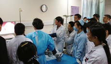 ESD demonstration by Dr. Ohata in Chengdu, China